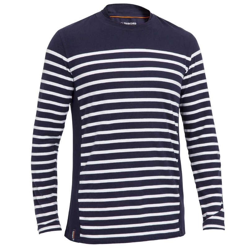 Abbigliamento leggero uomo Sport Acquatici - Maglia 100 uomo blu TRIBORD - UOMO VELA
