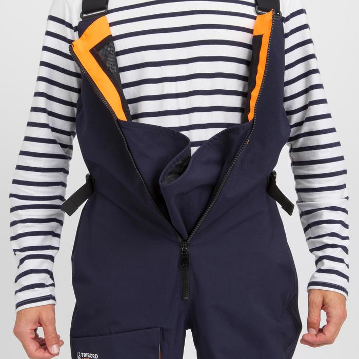 Zeilbroek voor heren Sailing 500 marineblauw