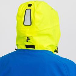 Heren zeiljas Race 500 voor wedstrijdzeilen blauw geel