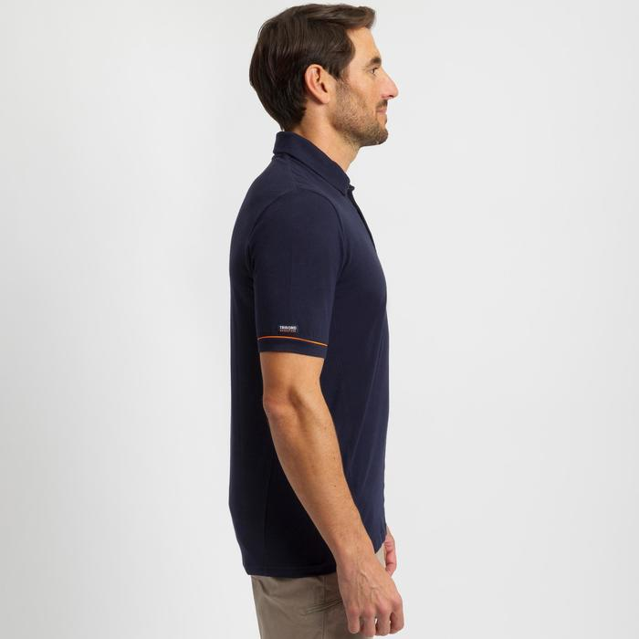 Sailing 100 Men's Sailing Short Sleeve Polo Shirt - Navy