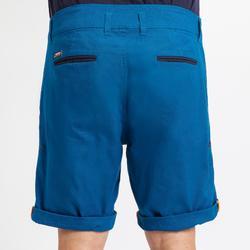 Bermuda robuste de voile homme SAILING 100 Bleu