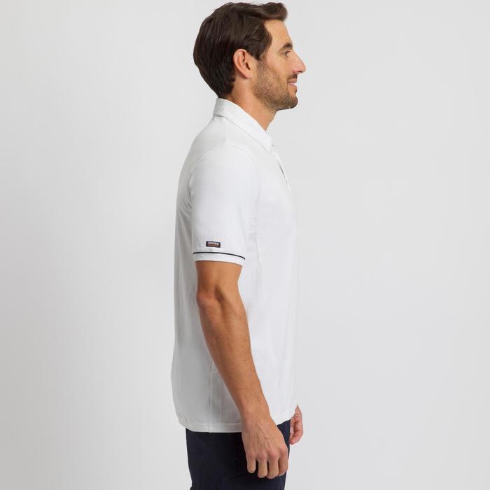 男款航海短袖Polo衫Sailing 100-白色