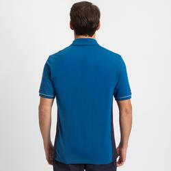 Polo de manga corta de vela hombre SAILING 100 Azul