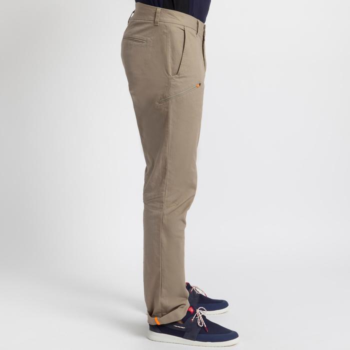 Pantalón robusto de vela hombre SAILING 100 Beige