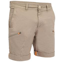 Sailing 100 Men's Rugged Sailing Bermuda Shorts - Beige