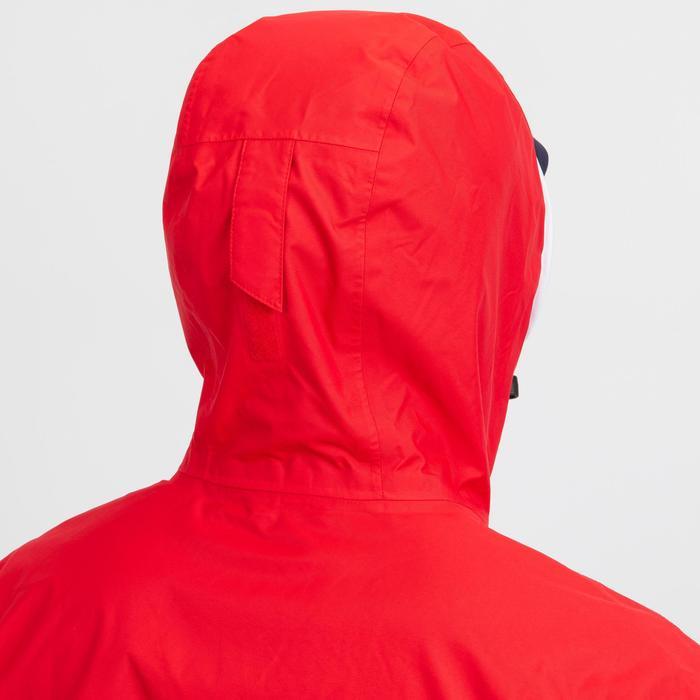Veste imperméable de voile SAILING 100 homme Bleu rouge