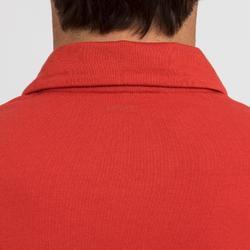 Polo manche courte de voile homme SAILING 100 Rouge