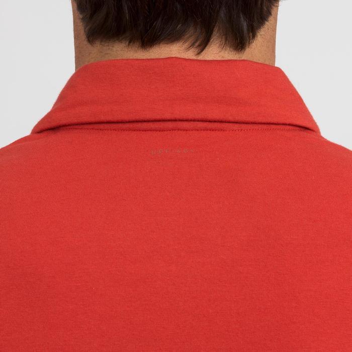 Poloshirt Segeln kurzarm Sailing 100 Herren rot