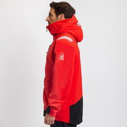 Veste imperméable de voile SAILING 500 homme Rouge