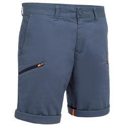 男款耐用航海百慕達短褲Sailing 100-灰色