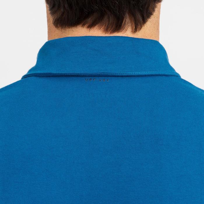 Polo manche courte de voile homme SAILING 100 Bleu