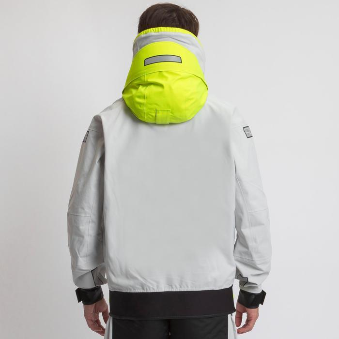 Zeiljas smock jacket wedstrijdzeilen heren Offshore grijs
