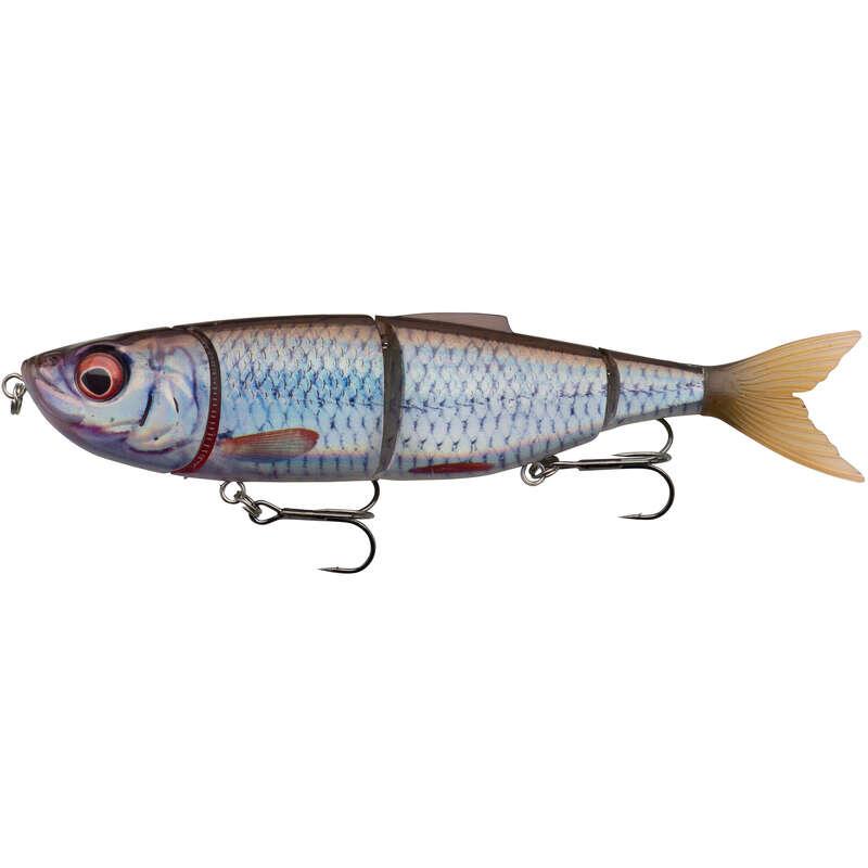 WOBLERY 6 AŽ 10 CM Rybolov - NÁSTRAHA 4PLAY SWIM&JERK 13,5  NO BRAND - Návnady a nástrahy