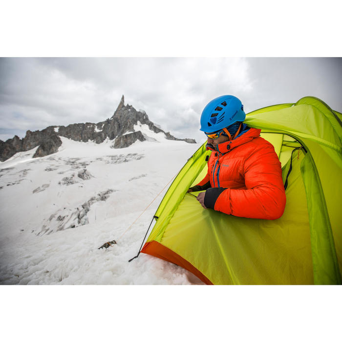 doudoune EN DUVET d'alpinisme homme - MAKALU Rouge