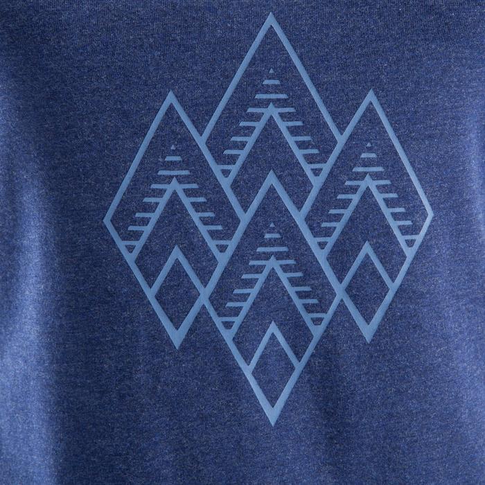 Damestop Comfort voor klimmen blauw