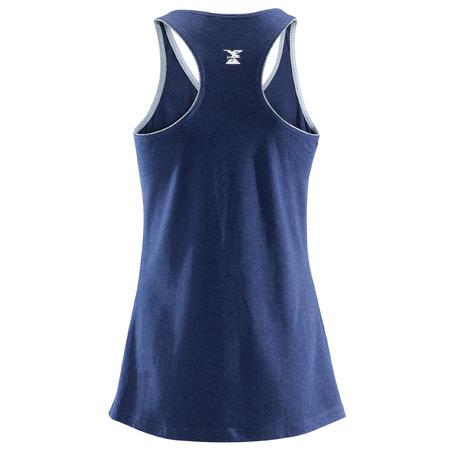 WOMEN'S STRETCH CLIMBING TANK TOP - COLOUR BLUE