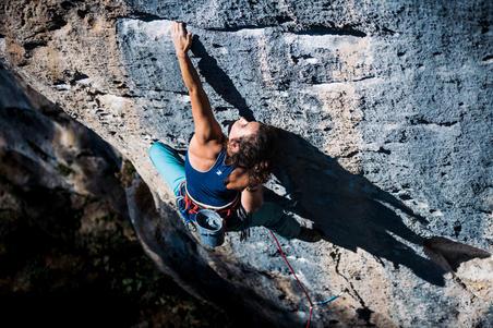 WOMEN'S COMFORT CLIMBING TANK TOP BLUE