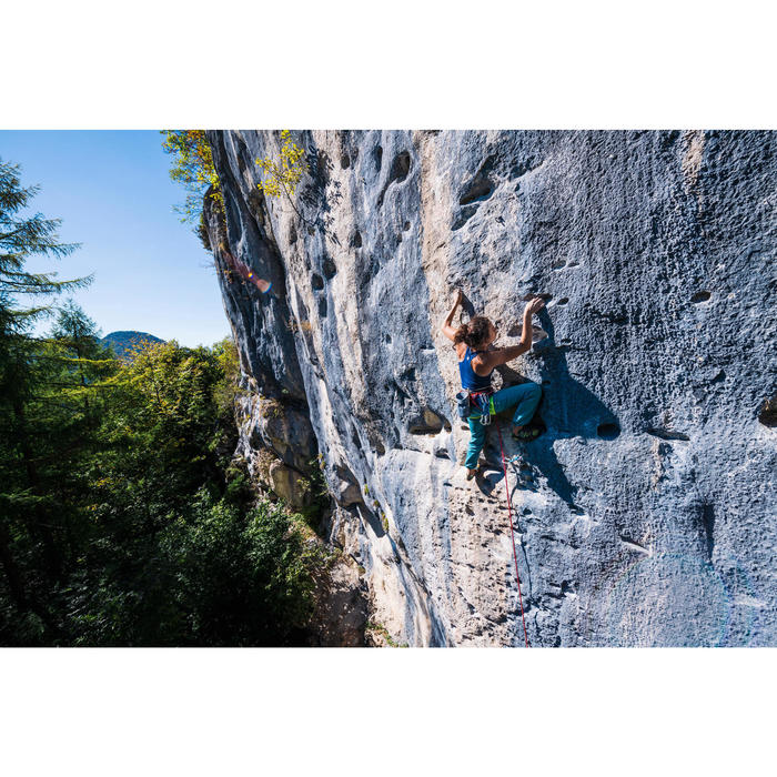 Kletterhose Cliff Damen blau grau
