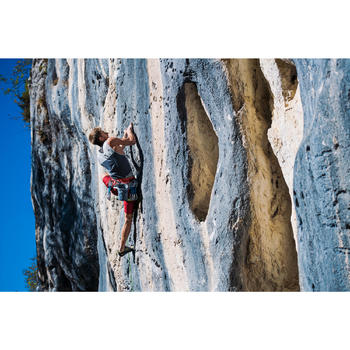 Kletter-Top Komfort Herren asphaltgrau