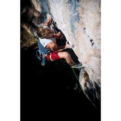 Comfortabele klimshort voor heren Cliff granaatrood