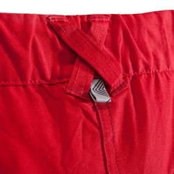 SHORT D'ESCALADE CONFORT HOMME CLIFF ROUGE GRENAT