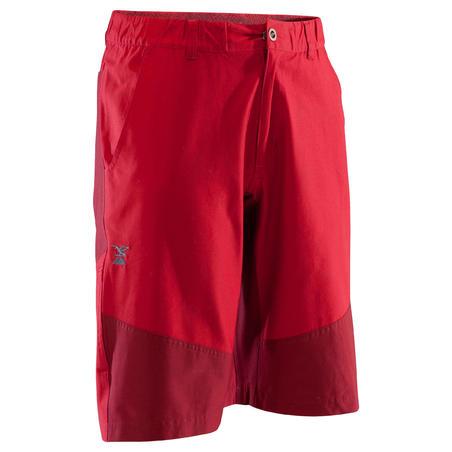 MEN'S STRETCH CLIMBING SHORTS - COLOUR GARNET RED