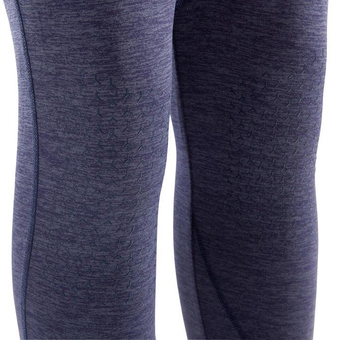 Kletter-Leggings Damen bordeauxrot/blau