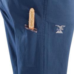 Blauwe driekwartbroek voor dames Cliff
