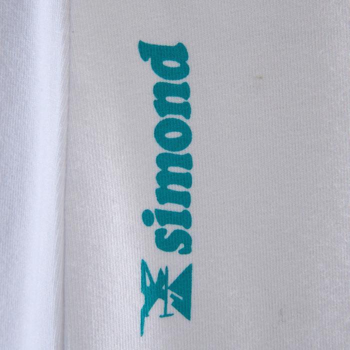 Kletter-T-Shirt Kurzarm Damen weiß