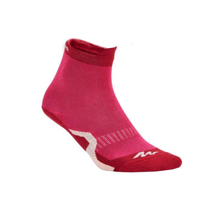 Crossocks 兒童健行高筒襪 2包- 紅