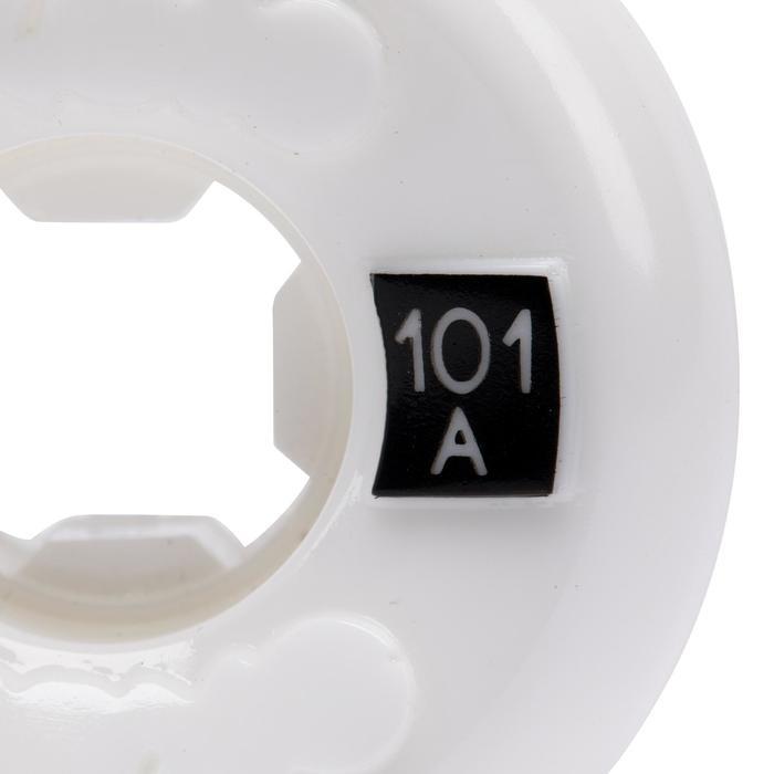 JEU DE 4 ROUES DE SKATEBOARD DE 54mm101A