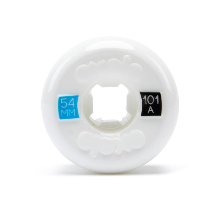 Skateboardwielen 54 mm 101A set van 4