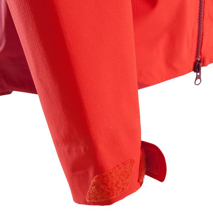 Veste imperméable d'alpinisme FEMME - ALPINISM LIGHT Rouge