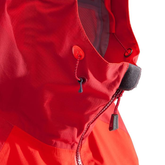 Bergsteiger-Jacke Alpinism Light Damen rot