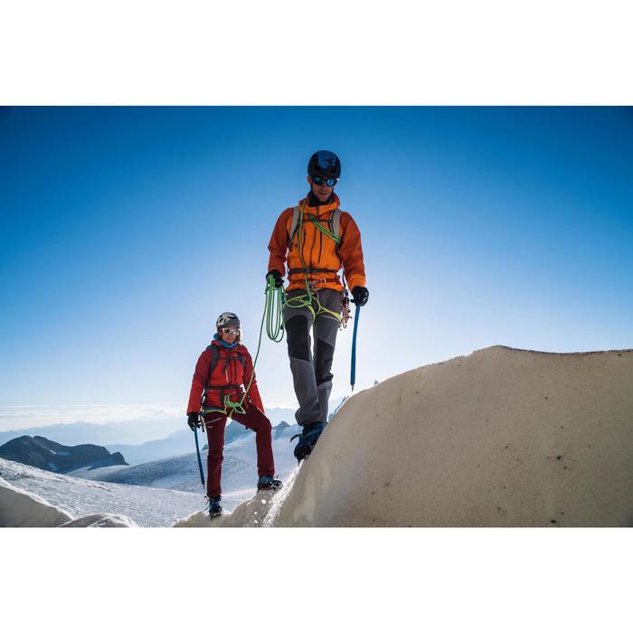Waterdichte damesjas voor alpinisme Alpinism Light rood