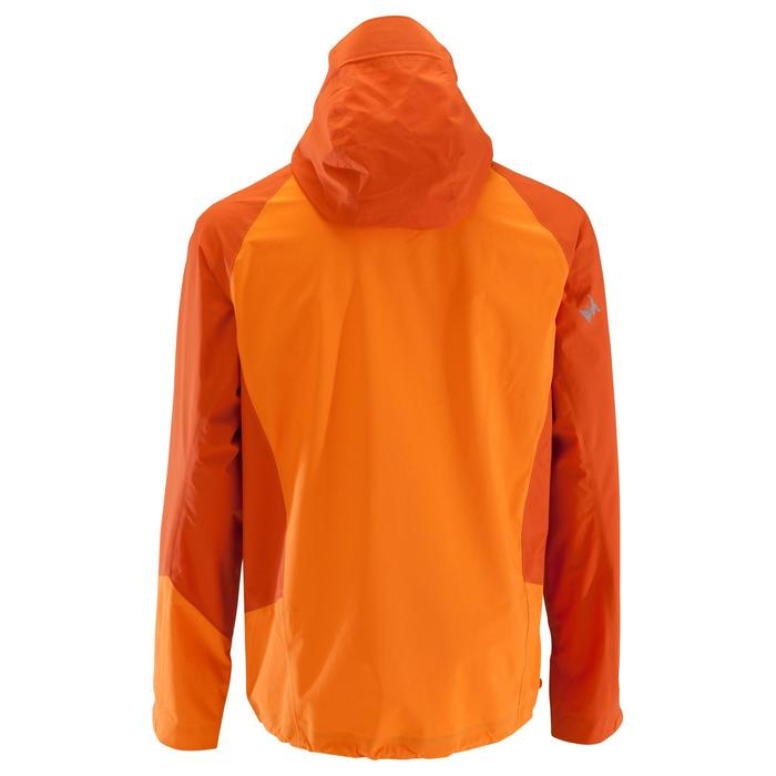 Veste imperméable d'alpinisme HOMME - ALPINISM LIGHT Orange