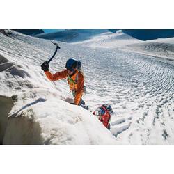 Veste imperméable d'alpinisme HOMME - ALPINISM LIGHT Orange