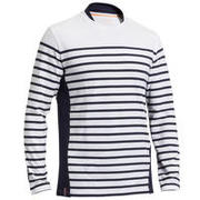 Men's Sailing Long Sleeve T-Shirt 100 - White