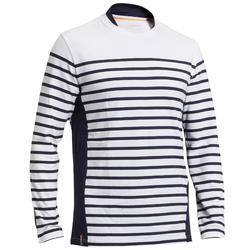 Camisola de Vela Manga Comprida - Marinheiro Sailing 100 Homem Branco