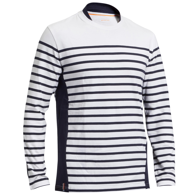 Segelshirt langarm Sailing 100 Herren | Bekleidung > Shirts > Langarm Shirts | Tribord