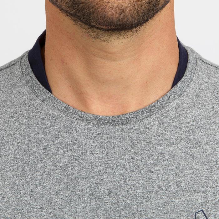 男款航海長袖T恤100-灰色