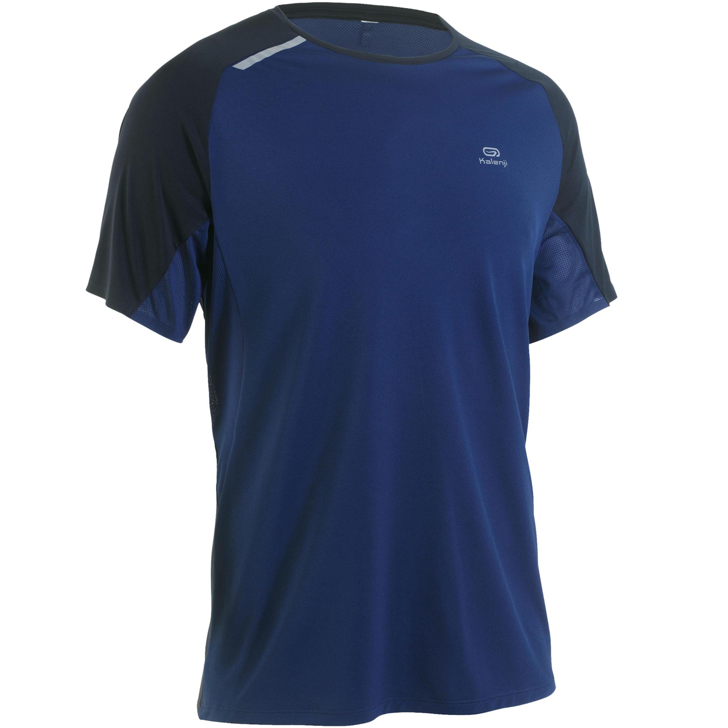 Kalenji Hardloopshirt voor heren Kiprun Light blauw