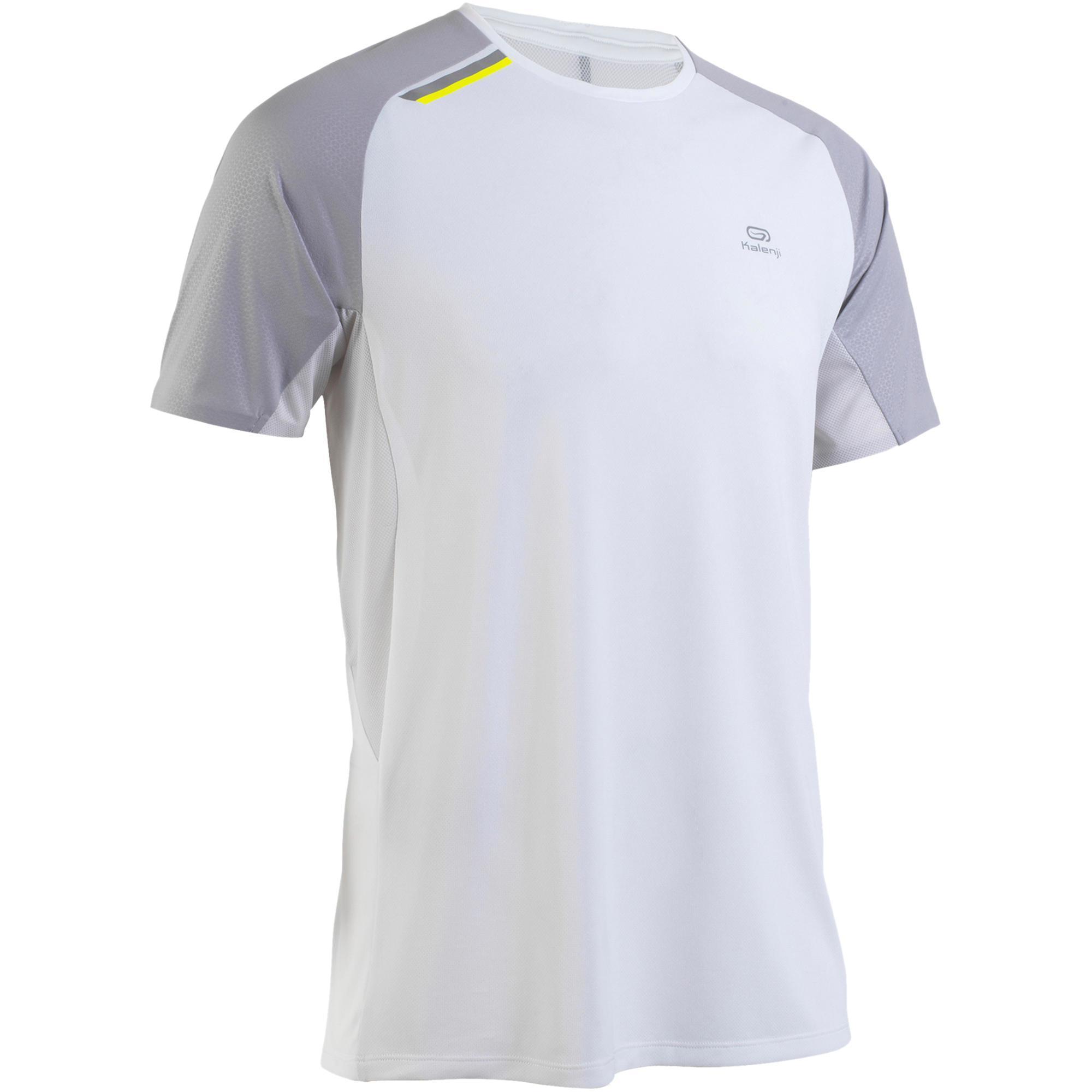 Kalenji Hardloopshirt voor heren Kiprun Light wit