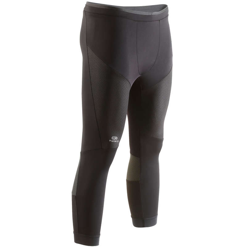 MAN WARM/MILD WEATHER RUNNING CLOTHES - KIPRUN MEN'S TIGHT RUN SHORTS KIPRUN