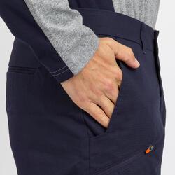 男款耐穿航海百慕達短褲SAILING 100-軍藍色