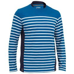 Sailing 100 Men's Long Sleeve Sailing T-Shirt - Blue