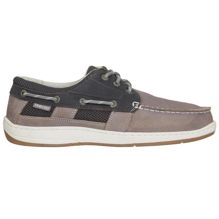 Chaussures bateau homme CLIPPER Gris