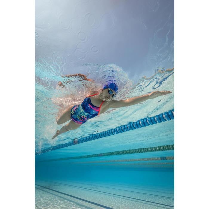 Badeanzug Jade Tag chlorresistent Damen blau
