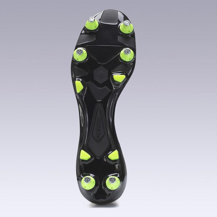Fußballschuhe Stollen Agility 540 SG Leder Erwachsene schwarz