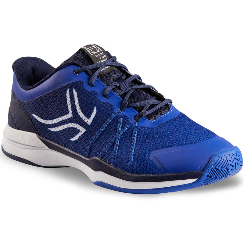 MEN BEG/INTER MULTICOURT SHOES Tennis - TS590 - Blue ARTENGO - Tennis Shoes